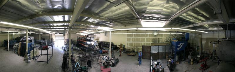 Glendale Powder Coating Shop Warehouse